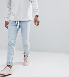 Светло-серые джинсы скинни Cheap Monday - Синий