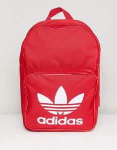 Классический красный рюкзак Adidas Originals - Красный