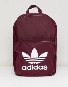 Классический бордовый рюкзак adidas Originals - Красный