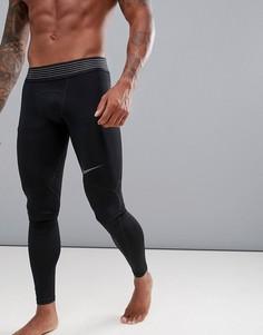 Черные леггинсы Nike Training Pro 888295-011 - Черный