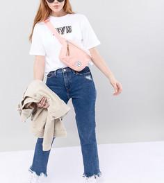 Розовая сумка-кошелек на пояс Herschel Supply Co. Fifteen - Розовый