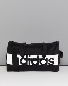 Черная спортивная сумка adidas - Черный