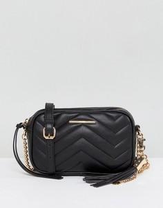 Стеганая сумка Aldo - Черный