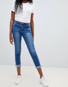 Укороченные джинсы скинни Glamorous - Синий