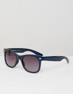 Квадратные солнцезащитные очки в стиле ретро AJ Morgan - Темно-синий