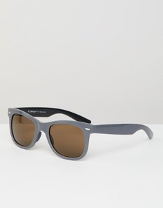 Квадратные солнцезащитные очки в стиле ретро AJ Morgan - Серый
