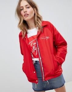 Спортивная куртка Tommy Hilfiger - Красный