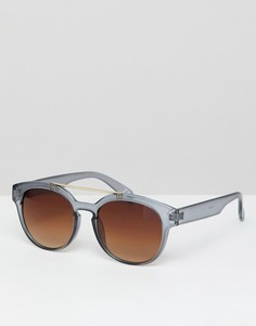 Квадратные солнцезащитные очки Jeepers Peepers - Серый