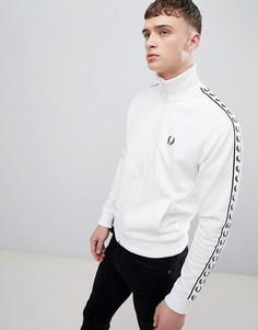 Белая спортивная куртка Fred Perry Sports Authentic - Белый