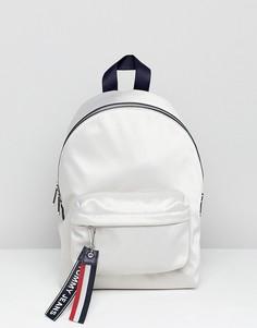 Рюкзак с фирменной лентой на ремешках Tommy Jeans - Серый