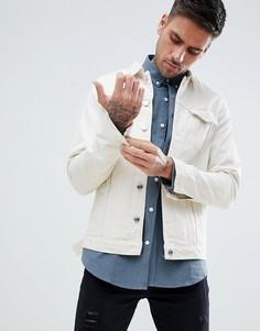 Джинсовая куртка Just Junkies - Белый