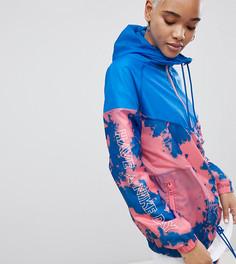 Ветровка с принтом тай-дай Nike - Синий