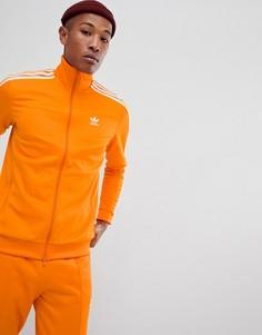 Оранжевая спортивная куртка adidas Originals Beckenbauer DH5821 - Оранжевый