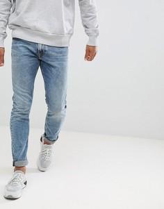 Стретчевые джинсы слим Diesel Thommer 084UX - Синий