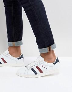 Кроссовки в стиле ретро с полосками Ben Sherman - Белый