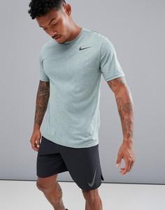 Зеленая футболка Nike Training Breathe Hyper Dry 832835-365 - Зеленый