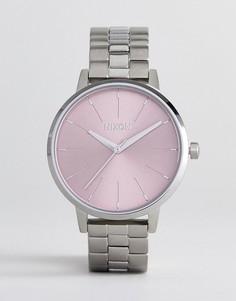 Серебристые наручные часы Nixon A099 - Серебряный