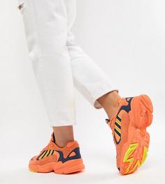 Оранжевые кроссовки adidas Originals Yung-1 - Оранжевый