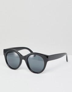 Черные солнцезащитные очки Monki - Черный