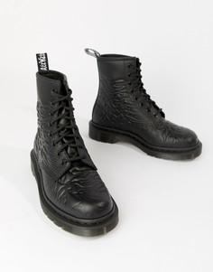 Черные ботинки Dr Martens x Joy Division 1460 - Черный