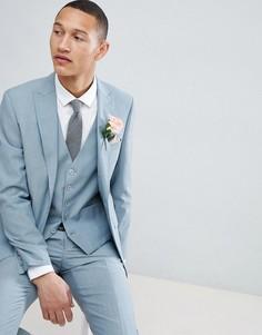 Приталенный пиджак Moss London Wedding - Зеленый