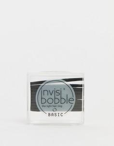 Черные резинки для волос Invisibobble Basic - Черный