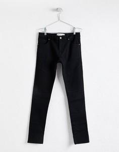 Черные байкерские джинсы скинни LDN DNM - Черный