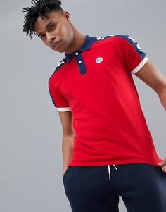 Красная футболка-поло с принтом North Sails - Красный