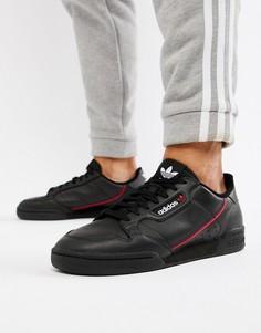 Черные кроссовки в стиле 80-х adidas Originals Continental B41672 - Черный