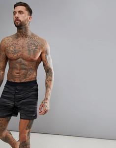 Шорты для плавания с принтом Speedo Lane - 16 дюймов - Черный