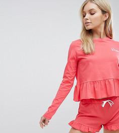 Пижамный комплект с шортами Hey Peachy Dreamer - Красный