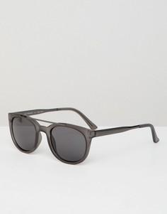 Солнцезащитные очки в стиле ретро AJ Morgan - Серый