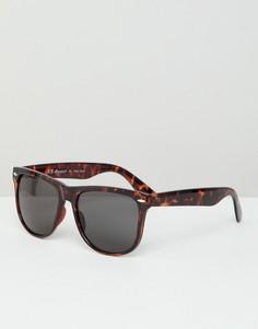 Квадратные солнцезащитные очки в стиле ретро AJ Morgan - Коричневый
