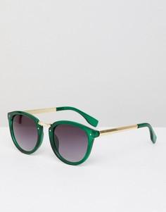 Солнцезащитные очки кошачий глаз AJ Morgan - Зеленый
