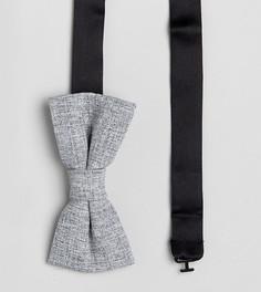 Трикотажный галстук-бабочка Noak - Серый