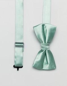 Галстук-бабочка и булавка на лацкан пиджака Ben Sherman - Зеленый