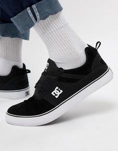Черные кроссовки DC Shoes Heathrow Vulc - Черный