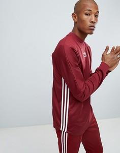 Красный лонгслив adidas Originals Authentic DJ2868 - Красный