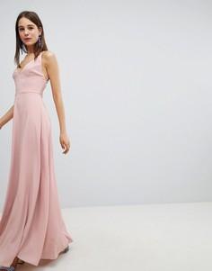 Платье макси New Look - Бежевый