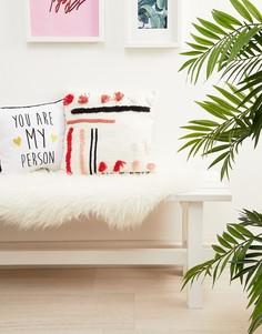 Наволочка для подушки с разноцветными полосками Pimkie - Мульти