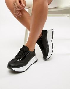 Кроссовки на толстой подошве ASOS DESIGN Dare - Черный
