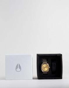Часы со сменными ремешком Nixon A1137 - Золотой