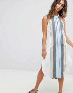 Пляжное платье миди в полоску Rip Curl - Мульти Ripcurl