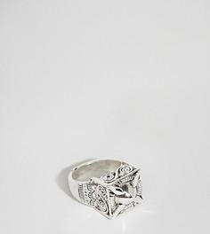 Толстое кольцо с гравировкой Uncommon Souls - Серебряный