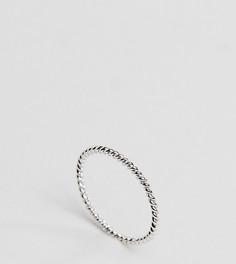 Серебряное кольцо с перекрученным дизайном DesignB London - Серебряный