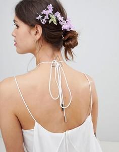 Заколка для волос с цветочной отделкой ASOS DESIGN - Мульти