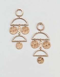 Серьги Pieces - Золотой