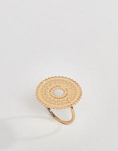 Кольцо с филигранным дизайном ASOS DESIGN - Золотой
