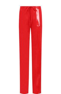 Хлопковые брюки с эластичным поясом Roque