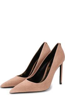 Замшевые туфли на шпильке Tom Ford